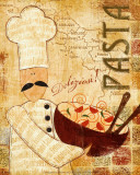 Pizza and Pasta II Prints by  Veronique