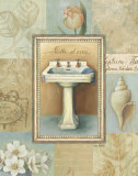 Tranquil Bath I Prints by Lisa Audit
