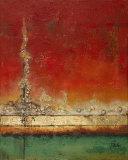 Sea Landscapes II Print by Patricia Quintero-Pinto