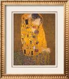 O Beijo, cerca de 1907 Pôsters por Gustav Klimt