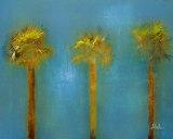 Three Palms I Posters by Patricia Quintero-Pinto