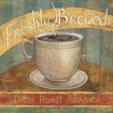 Fresh Brew I Art by Daphne Brissonnet
