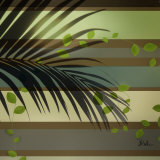 Palm and Stripes I Prints by Patricia Quintero-Pinto