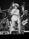 Tina Turner Performing Fototryk i høj kvalitet