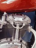 Motorcycles: Closeup of a Ducati Engine Reprodukcja zdjęcia autor Yale Joel