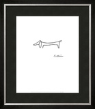 The Dog Prints by Pablo Picasso