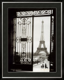 Paris, France, View of the Eiffel Tower Prints by Gall
