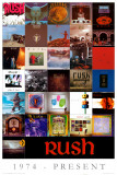 Rush Discography Print