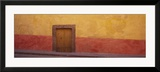 Door in a Wall, San Miguel de Allende, Guanajuato, Mexico Julisteet tekijänä Panoramic Images