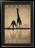 Mystic South Africa Print by Gayle Ullman
