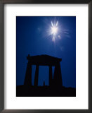 Isis Temple and sunburst Print by Winfield Parks