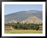 Pyramid of the Sun, Teotihuacan, 150Ad to 600Ad and Later Used by the Aztecs, North of Mexico City Prints by  R H Productions