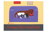 Living The Good Life Collectable Print by Ken Bailey