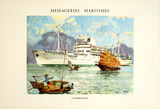 Mess Maritimes - Cambodge Collectable Print by Albert Brenet