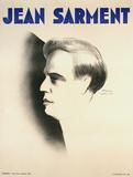 Jean Sarment Samlertryk af Paul Colin