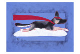 Super Shepherd Collectable Print by Ken Bailey