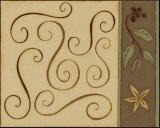 Swirls Poster par Dan Dipaolo