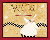 Pasta Chef Poster af Dan Dipaolo