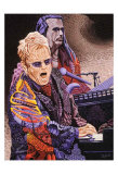 Elton John Prints by Ingrid Black