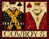 Cowboys Prints by Dan Dipaolo
