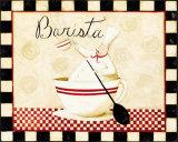 Barista Prints by Dan Dipaolo
