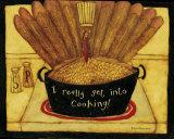 Get into Cooking Affiches par Dan Dipaolo