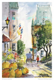 Rue St-Louis Art by Jean-roch Labrie