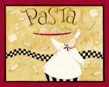 Pasta Plakat af Dan Dipaolo