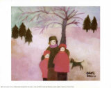 Winter Print by Colette Boivin