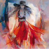 Summerdress I Lámina por Willem Haenraets