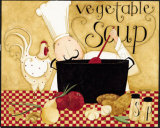 Vegetable Soup Posters by Dan Dipaolo
