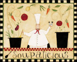 Soupalicious Posters par Dan Dipaolo