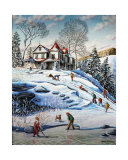 The Cape in Winter Prints by Hélene Corriveau