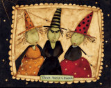 Three Witches Poster by Dan Dipaolo