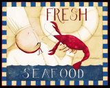 Fresh Seafood Prints by Dan Dipaolo