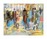 Rain over the City Prints by Marie Versailles