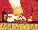 Pasta Print by Dan Dipaolo