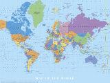 世界地図 アート