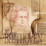 Tribute to Beethoven Plakat af Marie Louise Oudkerk
