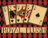 Royal Flush Poster by Dan Dipaolo