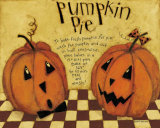 Pumpkin Pie Prints by Dan Dipaolo