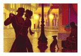 Flirt Posters by Denis Nolet
