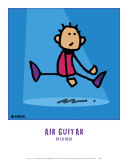 Air Guitar Poster by Ed Heck