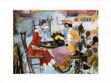 The Fancy Restaurant Kunstdrucke von Marie Versailles