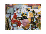 The Fancy Restaurant Prints by Marie Versailles