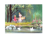 Daydream in the Wood Prints by Armande Langelier