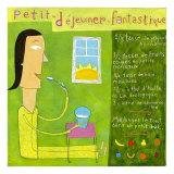 Petit Dejeuner Fantastique Prints by Céline Malépart