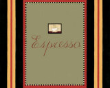 Espresso in Green Prints by Dan Dipaolo
