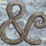 Typography: Ampersand Poster by Debbie DeWitt