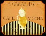 Cafe Mocha in Caramel Prints by Dan Dipaolo